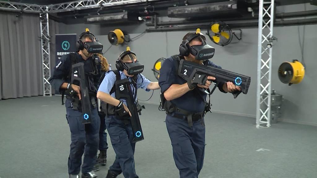 VR-Training für Stadtpolizei Zürich