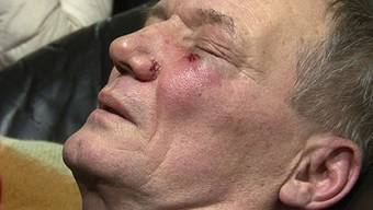 Wladimir Neklajew wurde während der Proteste im Dezember verletzt (Archiv)
