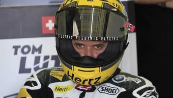 Tom Lüthi schaffte es nur in die vierte Startreihe