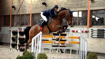 Springreiter Paul Estermann mit «Lord Pepsi» an den Pferdesporttagen in Hildisrieden – auch dieses Tier soll er malträtiert haben.
