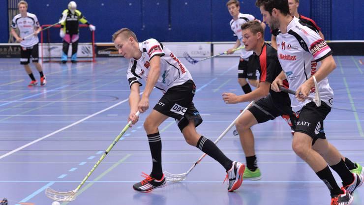 Unihockey Mittelland wird beim Heimturnier Dritter.