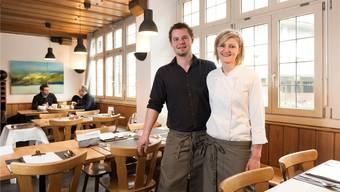 Nadja Schuler und Stephane Wirth führen den «Hirschen».