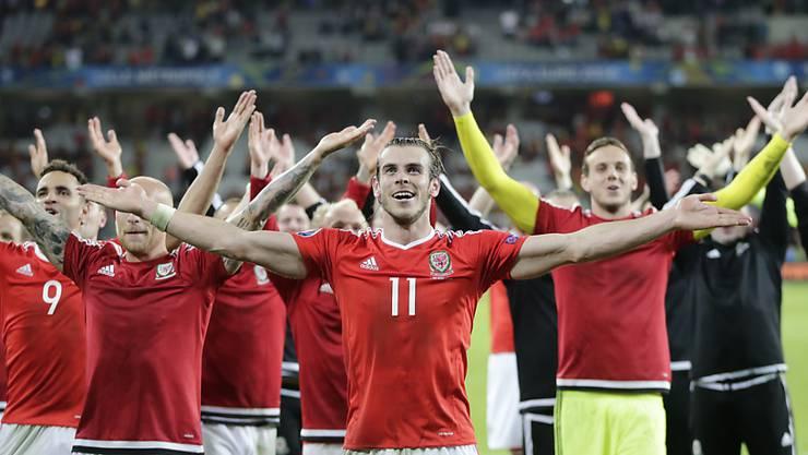 Die Erfolgsstory der Waliser um ihren Superstar Gareth Bale geht weiter