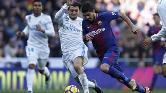 Luis Suarez brachte den FC Barcelona im Clasico gegen Real Madrid in Führung