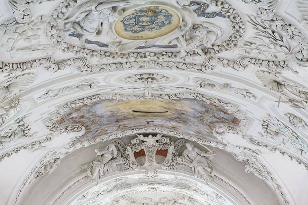 Die Fresken wurden ebenfalls restauriert