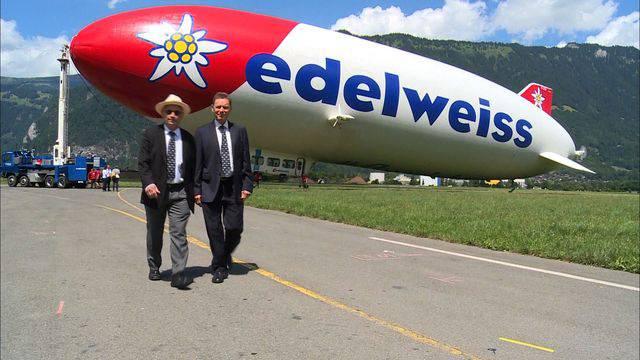 Im Zeppelin über den Thunersee