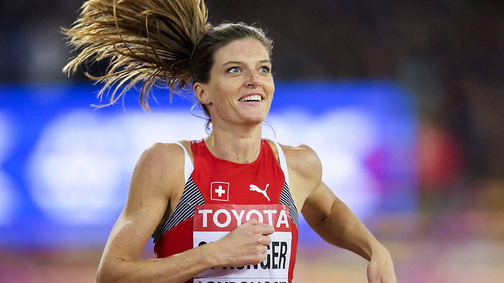 Gewinnt Lea Sprunger die erste WM-Medaille einer Schweizerin seit Anita Weyermann vor 20 Jahren?