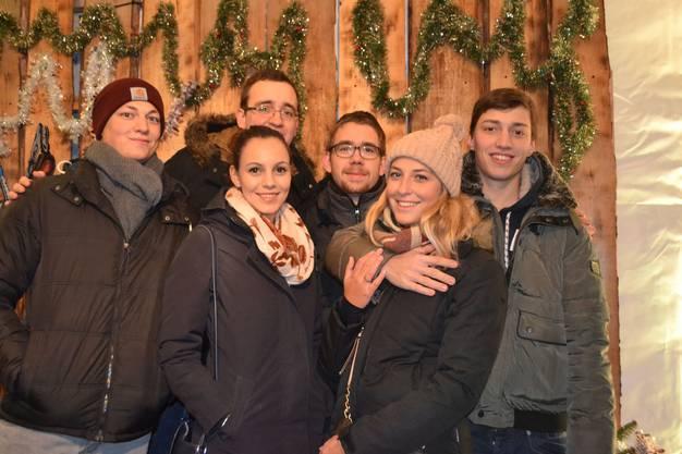 Nicola Steiner zusammen mit Pascal Meier und Freunden