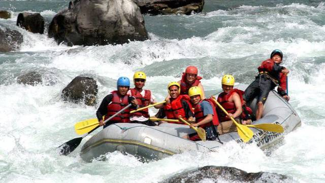 Riverrafting in Nepal (Symbolbild)