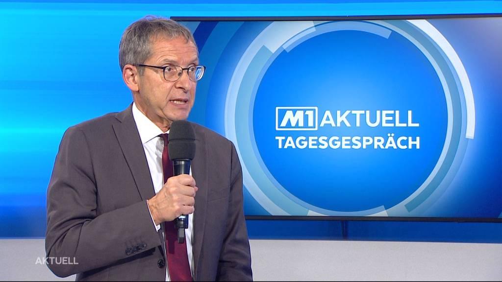 Urs Hofmann über Wirtschaftslage im Aargau während der zweiten Coronawelle