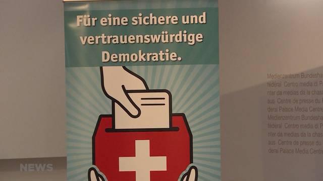 Initiative gegen E-Voting ist lanciert