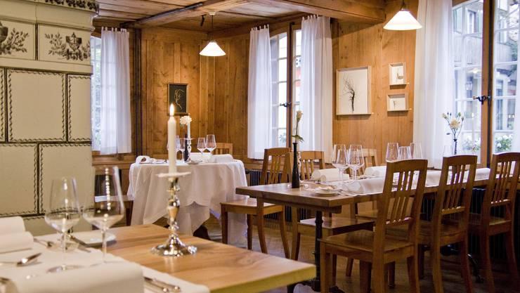 Das «Restaurant zum Löwen» in Messen wurde mit dem ersten Platz in der Kategorie «Classic» ausgezeichnet.