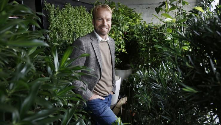 Michel Aebi, Gründer Unternehmerinitiative neue Energie Solothurn