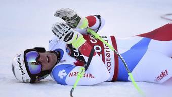 Die Schweizer standen in der laufenden Saison kein einziges Mal auf dem Treppchen. Auch Marc Gisin nicht.