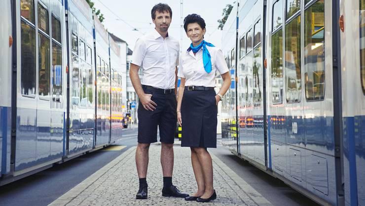 Die Mitarbeitenden der VBZ bekommen per 17. September neue Uniformen.