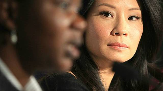 Hollywood-Schauspielerin Lucy Liu (r., Archiv)