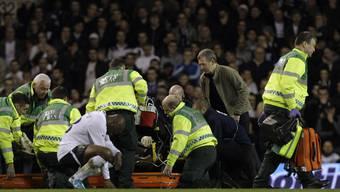 Fabrice Muamba von den Bolton Wanderers brach 2012 auf dem Spielfeld zusammen.