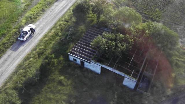 In diesem Haus wurden die Leichen der 72 illegalen Einwanderer gefunden