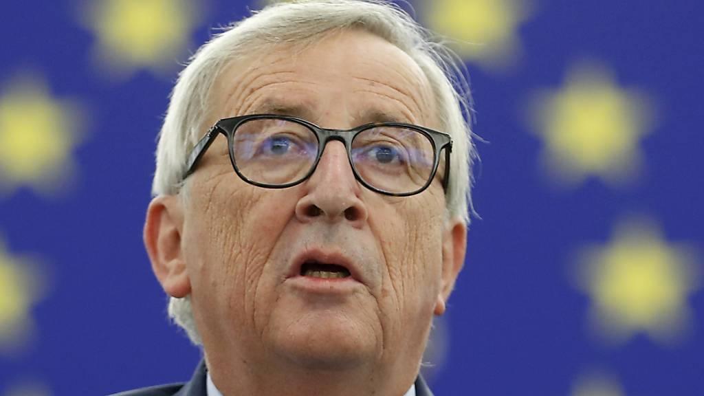 Juncker zum Abschied: «Bekämpft den dummen Nationalismus»