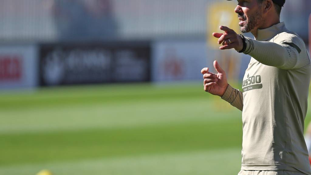 Muss im Moment zuhause bleiben: Atlético-Coach Diego Simeone wurde positiv auf das Coronavirus getestet
