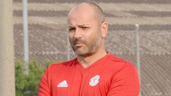 Der bisherige SCZ-Trainer Flavio Catricalà wirft dem Klubpräsidenten Hansjörg Ryter Respektlosigkeit vor.Bild: pka