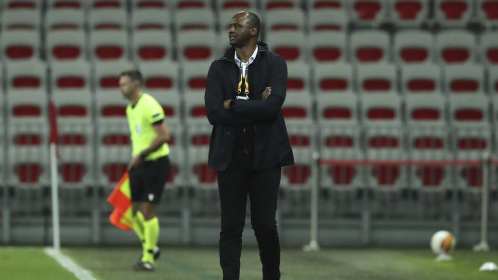 Patrick Vieira kassierte zuletzt vier Niederlagen in Folge