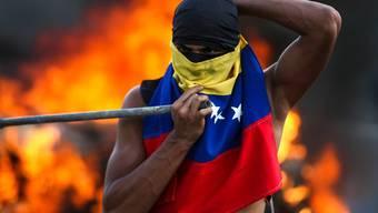 Maduro-Gegner in der venezolanischen Hauptstadt Caracas.