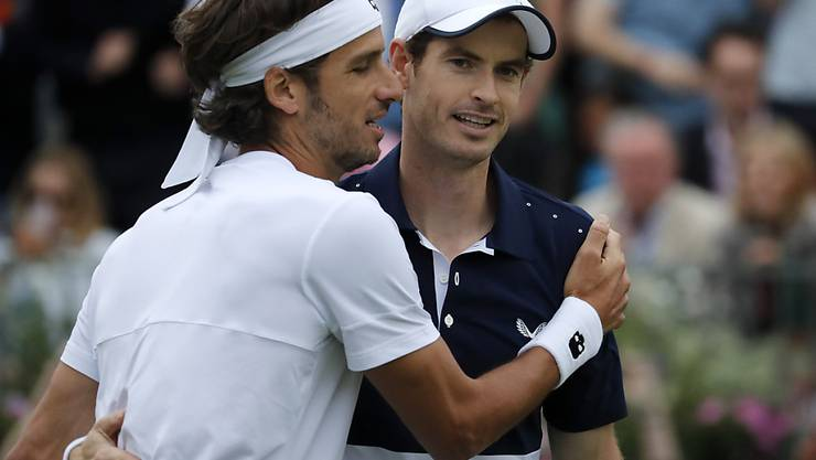 Erfolgreiches Oldie-Doppel: Andy Murray (re.) und Feliciano Lopez