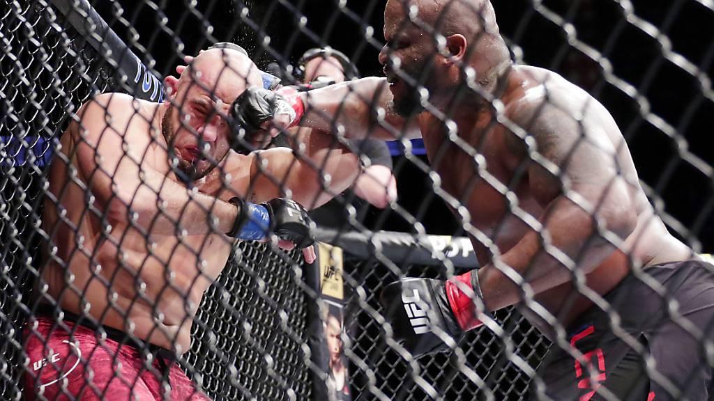 Vorübergehend keine MMA-Kämpfe mehr
