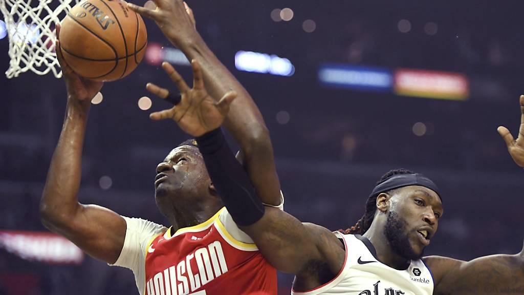 Houston verliert Spitzenkampf in Los Angeles