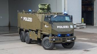 Diesen Duro mietet die Kantonspolizei Zürich bei der Armee.