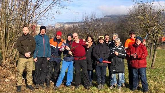 Die Baumschneidtruppe des NVVO