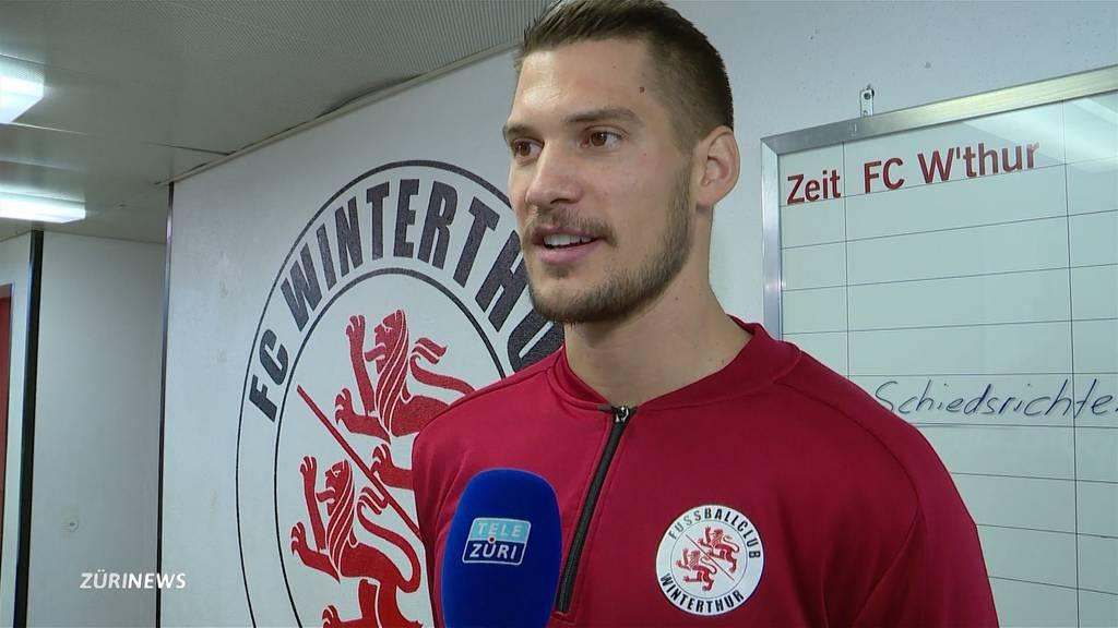 Winterthur: Raphael Spiegel gelingt gegen Chiasso ein Goalie-Goal