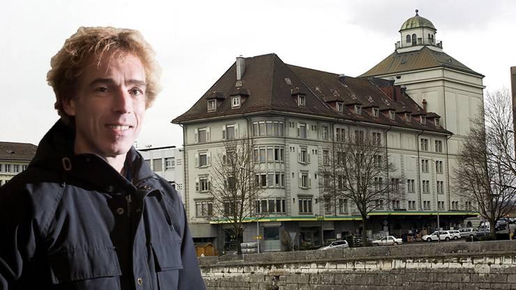 Markus Moerler möchte in der Landi Partys veranstalten.