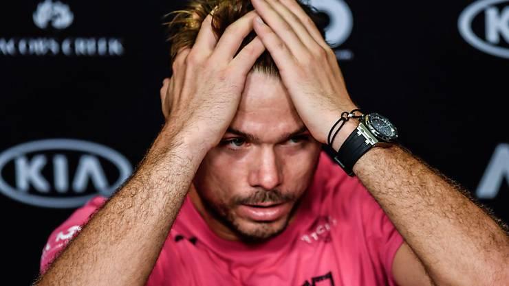 Stan Wawrinka spielt kommende Woche nicht in Rotterdam