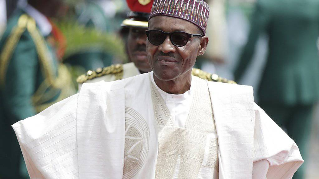 Nigerias Präsident Muhammadu Buhari sucht das Gespräch mit Rebellen in der umkämpften Ölregion des Landes. (Archivbild)