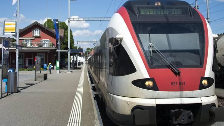 Neu wird ein Bonus/Malus-System bei der Regio-S-Bahn Basel eingeführt. (Symbolbild)