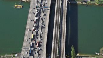 Die Osttangente ist eine der grossen Transitachsen Basels.