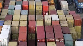 Container bei Rhenus Alpina AG