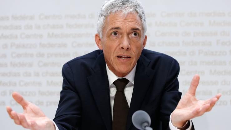 Jetzt auch noch schlechte Noten von der Geschäftsprüfungskommission: Michael Lauber, Bundesanwalt.