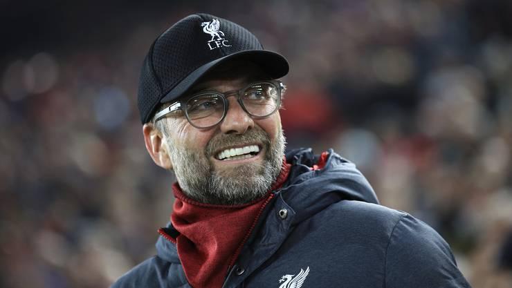 Muss mit dem Saisonstart zufrieden sein: Jürgen Klopps FC Liverpool führt die Tabelle der Premier League fast makellos an.