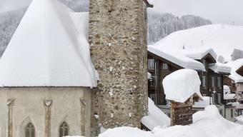 St. Antönien im Prättigau versinkt im Schnee