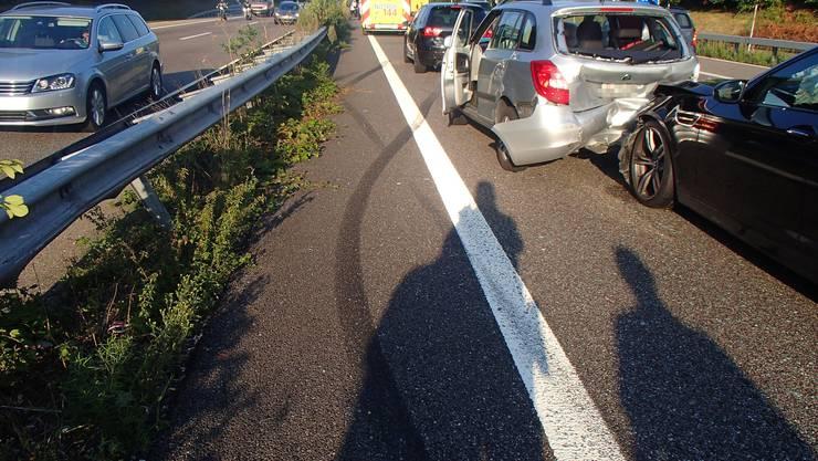 Auf der A1 kam es im dichten Feierabendverkehr zu längeren Staus in Richtung Zürich.