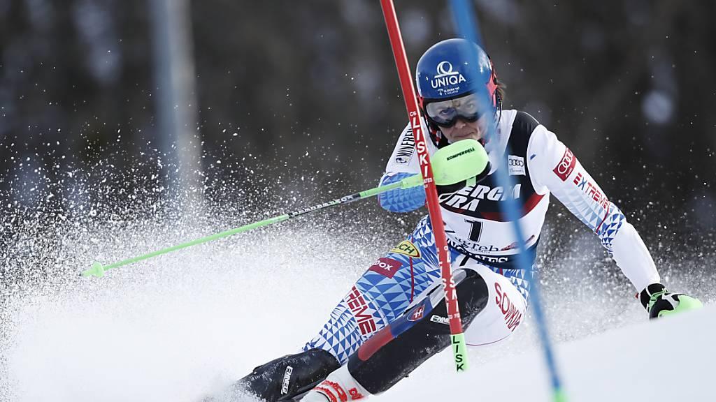 Petra Vlhova gewinnt den Slalom in Zagreb