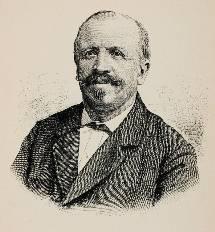 Volksschriftsteller Bernhard Wyss (1833–1889) aus Kappel.