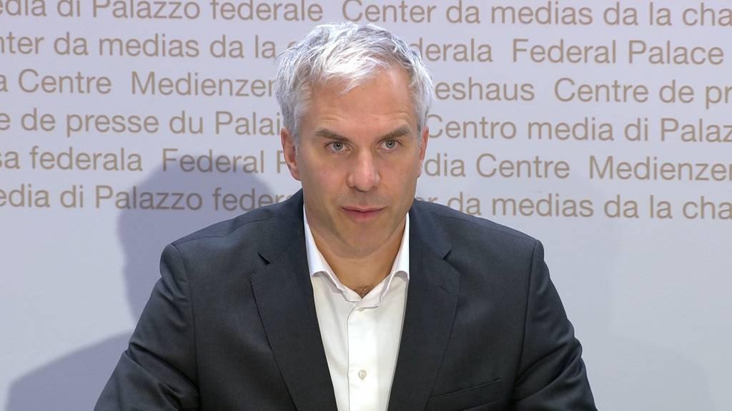 Covid-Taskforce-Präsident Ackermann: «Massnahmen reichen nicht.»