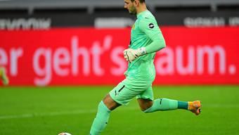 Bleibt er nun im Tor? Roman Bürki von Borussia Dortmund im Spiel gegen Schalke (3:0).