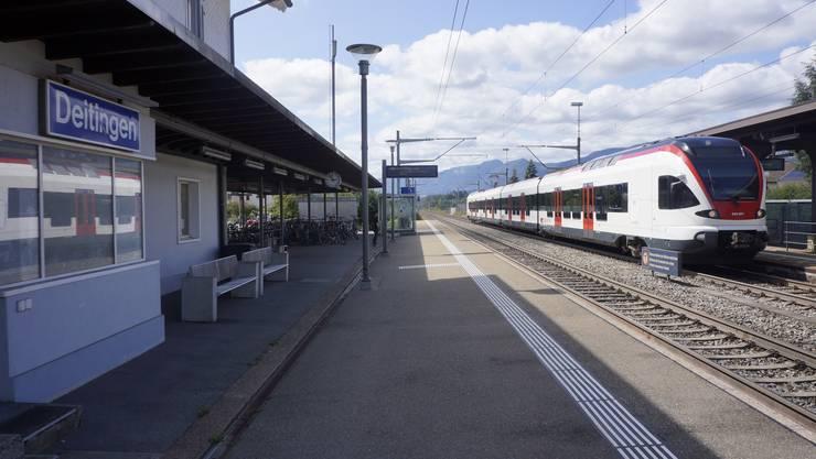 Bahnhof Deitingen