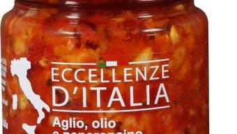 """Im Produkt Eccellenze d'Italia """"Aglio, olio e peperoncino"""" können möglicherweise Glasteile enthalten sein."""