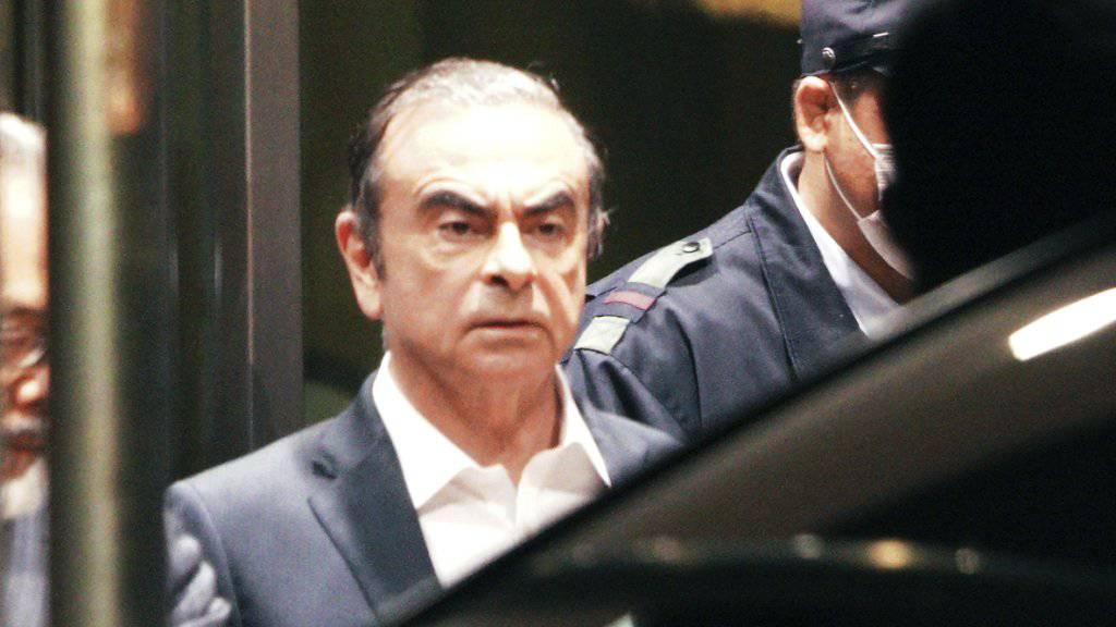 Gegen den einst schillernden Automanager Carlos Ghosn sind erneut Vorwürfe von zweifelhaften Zahlungen aufgetaucht - diesmal bei einer niederländischen Gesellschaft. (Archivbild)